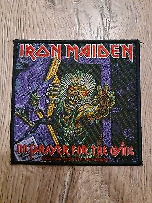 IRON MAIDEN No Prayer For The Dying Patch Official 2020 RARE • 6.50£