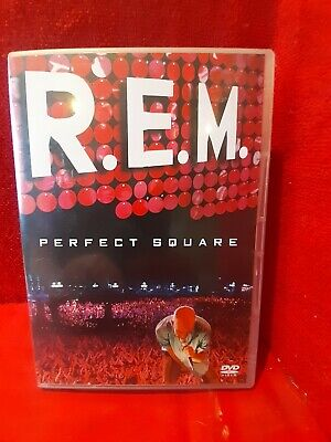 R.E.M. - Perfect Square DVD, 2004 • 7£