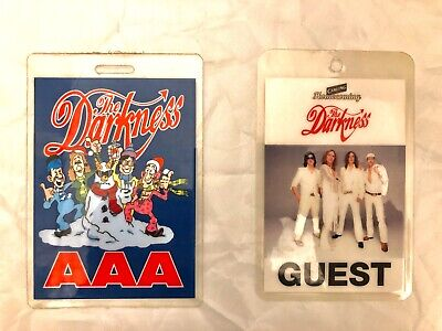 Laminated AAA +'Guest'backstage Pass Bundle. The Darkness' 2000's London Astoria • 10.50£
