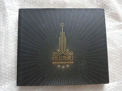 RAMMSTEIN Volkerball Limited Edition #05042 2xCD 2xDVD Tour Photo Book Live • 75£