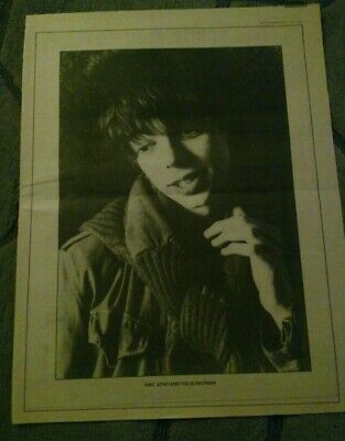 ECHO AND THE BUNNYMEN - Mac Vintage Full Page Poster Sized Portrait Photo • 2.99£