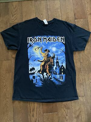 Iron Maiden 2017 The British Are Coming Tour T Shirt • 8£