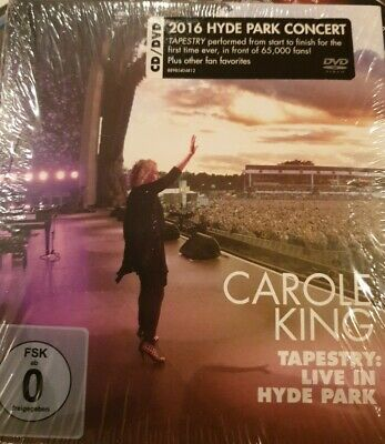 CAROLE KING TAPESTRY: LIVE AT HYDE PARK - Sealed CD & DVD (September 15th 2017) • 12.99£