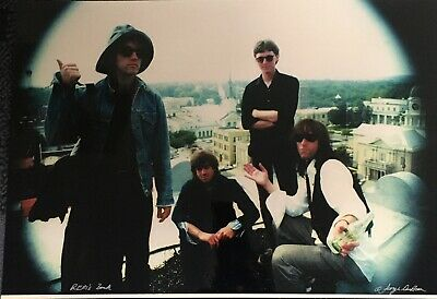 REM Original Photograph Print Signed By George DuBose 1986 Spin Magazine R.E.M. • 150£