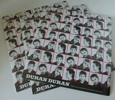 3 Packets Of Duran Duran Wrapping Paper **new** • 9.99£
