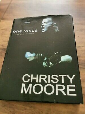 One Voice - My Life In Song: Christy Moore. Original Hand-signature • 27£