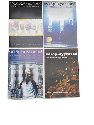 Coldplay Promtional Cards And Official Fanzines • 0.99£