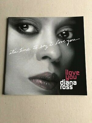 Diana Ross I Love You Tour 2007 Official Concert Programme New Rare • 16£