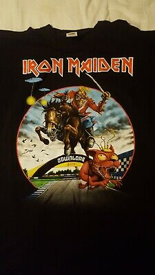 Iron Maiden Official Tour T Shirt Maiden England 2013 Download Festival Size XL • 22£