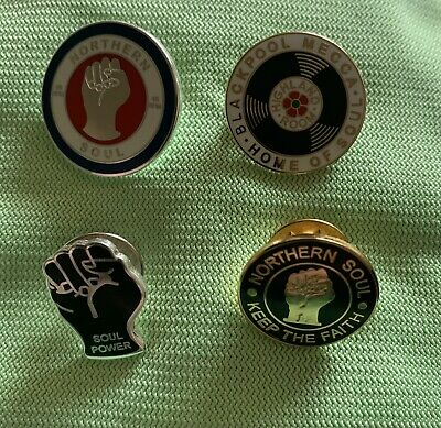 Northern Soul Badges X 4 • 10£