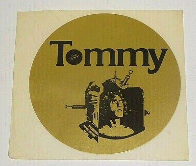 THE WHO TOMMY THE MOVIE1975 Promotional STICKER • 2.49£