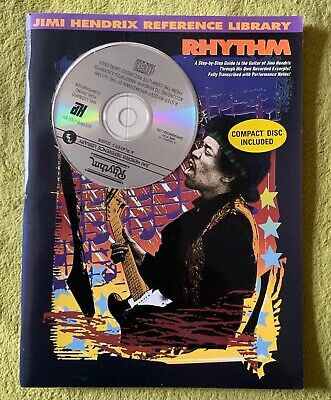 Jimi Hendrix Reference Library - Rhythm - Includes Cd • 35£