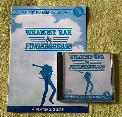 Jimi Hendrix Reference Library - Whammy Bar And Finger Grease • 15£