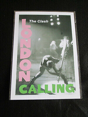 The Clash : London Calling Flyer   :  A4  Repo Poster • 3.99£