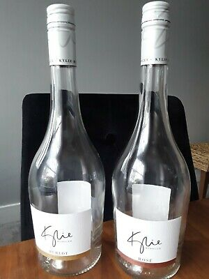 Kylie Wine Bottles X 2 • 5.70£