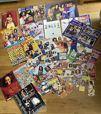RARE SPICE GIRLS CUTTINGS COLLECTION - 1990s; Magazines, Newspapers, Posters • 245£
