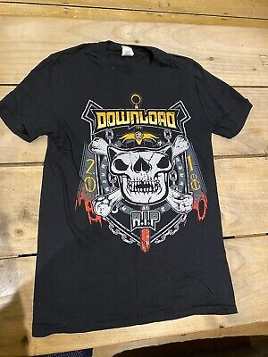 Download Festival Donington 2018 T Shirt RIP R.I.P Brand New Never Worn Small • 5£