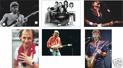 Dire Straits Mark Knopfler 6 Card POSTCARD Set • 5.99£