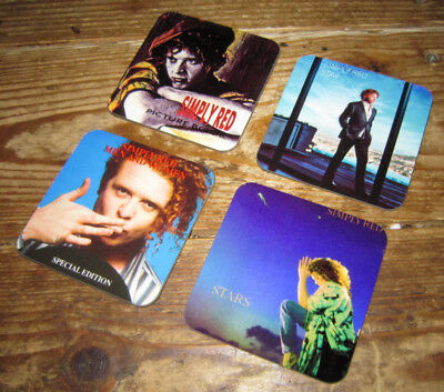 Simply Red Mick Hucknall Album Cover COASTER Set #3 • 8.99£