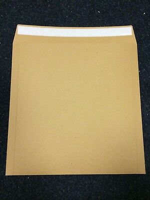 100 7   STRONG BROWN PEEL AND SEAL RECORD MAILERS 'ENVELOPES FREE 24h • 23.89£