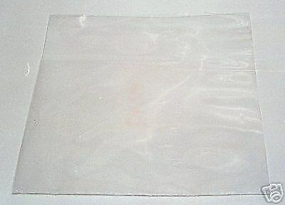 100 7  Plastic Polythene Record Sleeves / Covers 250g  + Free Delivery • 4.88£