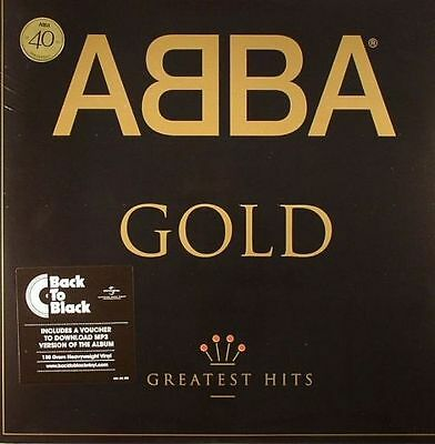 ABBA - Gold -  Greatest Hits 40th Anniversary - Vinyl 2 X 12  LP / New + Mp3  • 19.95£