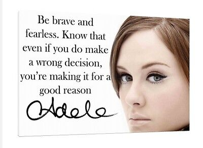 Adele 30x20 Inch Canvas - Framed Picture Print • 38.95£