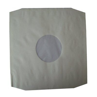 50 X High Density 12  Poly Lined Inner Paper Record Sleeves Anti-Static EBAYBEST • 11.95£