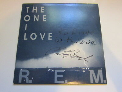 REM One I Love  AUTOGRAPHED Record • 24.01£