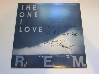 REM One I Love  AUTOGRAPHED Record • 30.88£