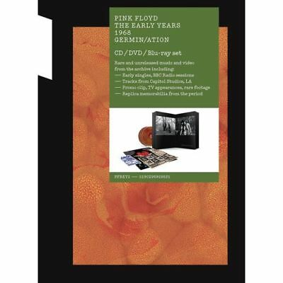 PINK FLOYD The Early Years 1968 Germin/ation CD/DVD/BLU-RAY SET BRAND NEW • 39.98£