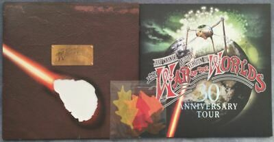 JEFF WAYNE'S WAR OF THE WORLDS  TOUR PROGRAMME 30th ANNIVERSARY &  AUTUMN LEAVES • 80£