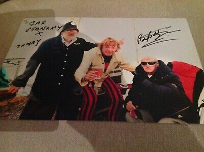 Manchester Picadilly Rats Hand Signed 12 X 8 Photo Music Band Music 1 • 39.99£
