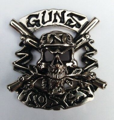 OFFICIAL GUNS N ROSES Pin Badge SLASH AXL ROSE • 14.95£