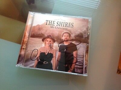 The Shires My Universe Hand Signed Cd Album Country Music Ideal Gift • 21.99£