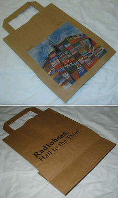 RADIOHEAD Hail To The Thief 2003 Promo Paper Bag - New • 3.50£