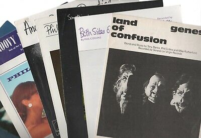 Genesis Phil Collins Sheet Music Club Magazines Programmes From £3.75 (Listed)   • 24.75£