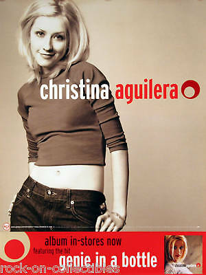 Christina Aguilera 1999 Self Titled Original Promo Poster  • 11.11£