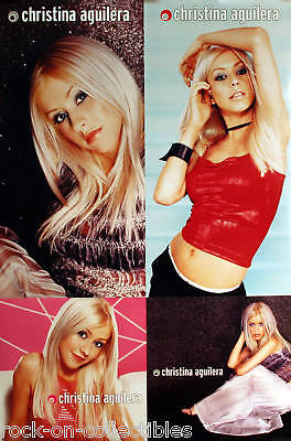 Christina Aguilera 1999 Rare Original Self Titled Double Sided Promo Poster  • 11.11£