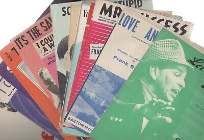 Frank SINATRA Sheet Music & Music Books 1940's 1950's & 1960's From £3.75  • 14.75£