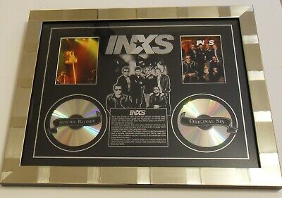 INXS Rare Montage, Collectors Or Gift, Decorative Frame 58 X 48cm ONLY ONE! • 39.99£