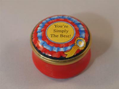 HALCYON DAYS Simply The Best Knighty Knight Music Tina Turner PILL BOX • 49.99£