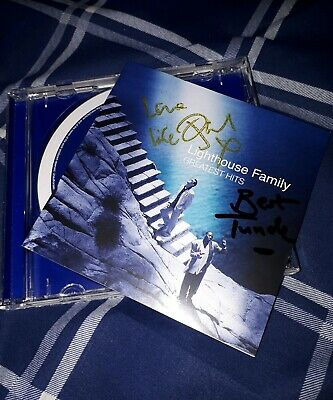 The Lighthouse Family Hand Signed Greatest Hits Cd Ocean Drive High Xmas Gift • 39.99£