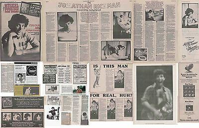 JONATHAN RICHMAN : CUTTINGS COLLECTION - Adverts Interviews  • 4.50£