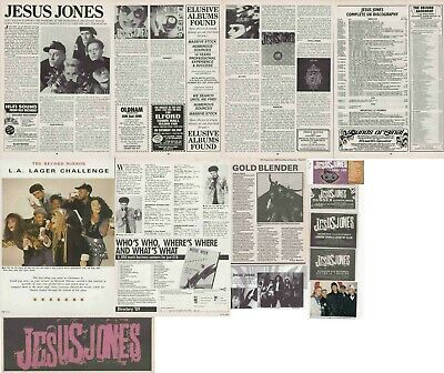 JESUS JONES : CUTTINGS COLLECTION - Adverts  • 4.55£
