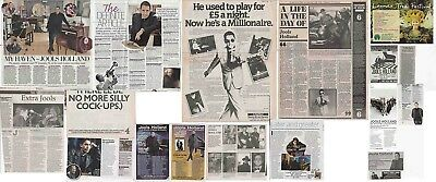 JOOLS HOLLAND : CUTTINGS COLLECTION - Adverts Interviews  • 5.50£