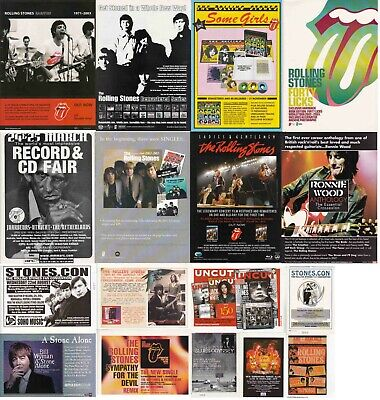 ROLLING STONES : CUTTINGS COLLECTION - Adverts  • 4.70£