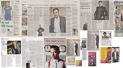 WILL YOUNG : CUTTINGS COLLECTION - Interviews  • 5£