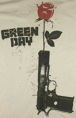 Green Day 2009 Official Pop Punk Rock Size Medium Worn/used • 12£