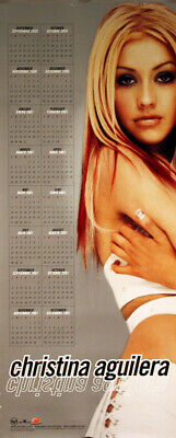 Christina Aguilera 2000 Original In House Calendar Poster • 15.87£